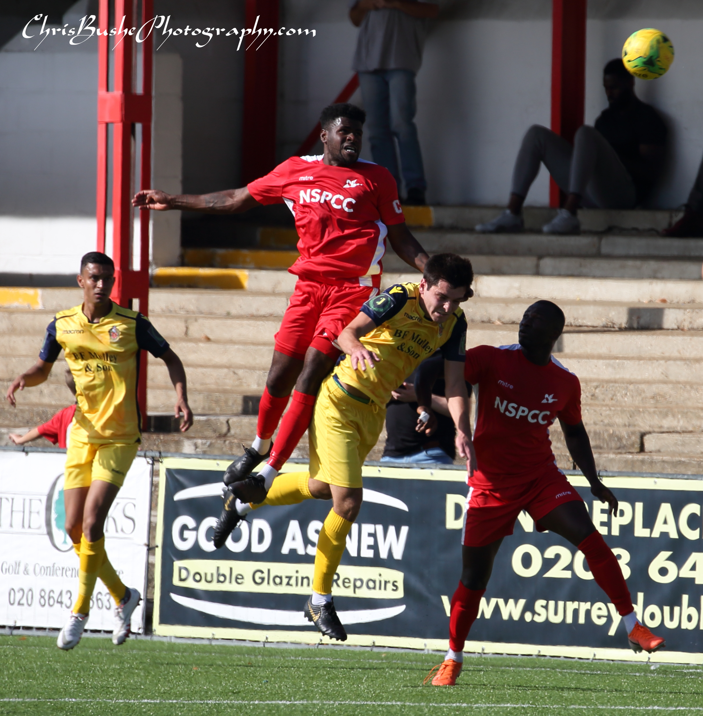 Paris Hamilton downes Carshalton captain heads